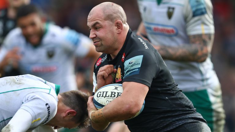 Ben Moon was part of Exeter Chiefs' Premiership-winning side in 2017
