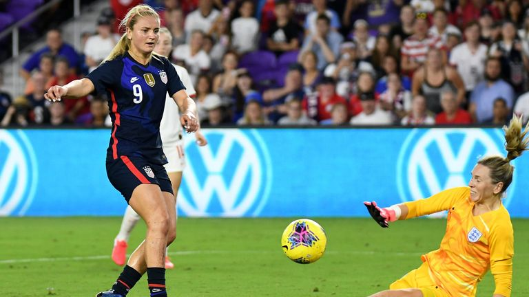 Julie Ertz powers USWNT to victory over Spain in SheBelieves Cup