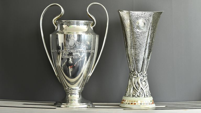 The Champions League could be decided by a mini tournament, should that prove to be UEFA's preferred option