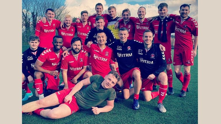 Invicta were the first LGBT+-inclusive team in Britain to be formally affiliated to a professional men's club