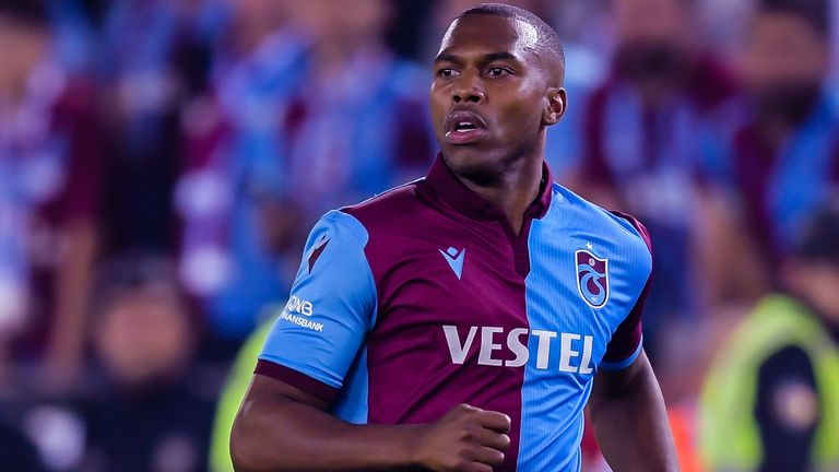 Daniel Sturridge is a free agent after ending his deal with Trabzonspor