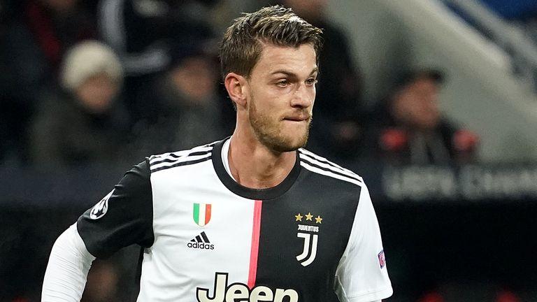 Juventus defender Daniele Rugani tested positive for coronavirus