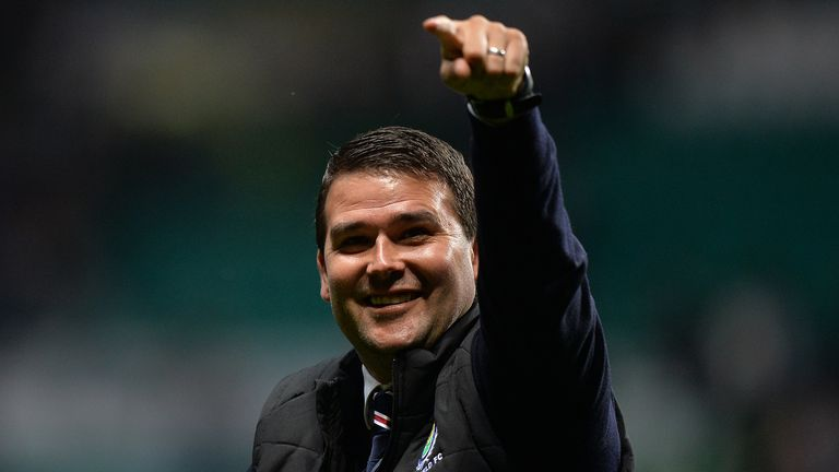 Former Rangers striker David Healy is the Linfield boss