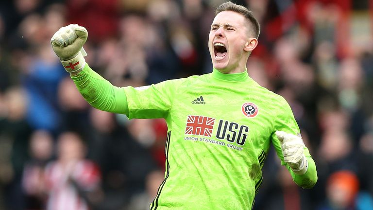 Dean Henderson will remain at Sheffield United until the end of the season
