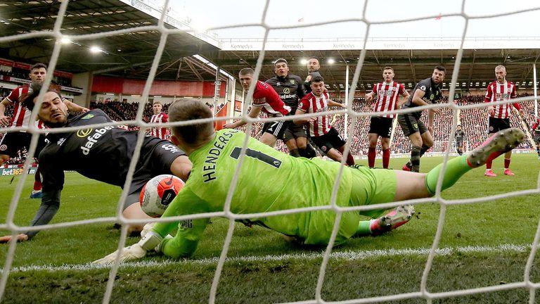 Henderson has kept 10 clean sheets in the Premier League this season