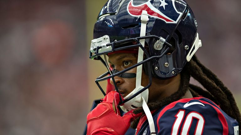 DeAndre Hopkins was traded to the Arizona Cardinals in one of the shock deals of free agency