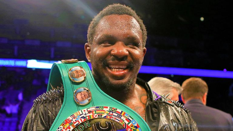Dillian Whyte is the mandatory challenger for Fury