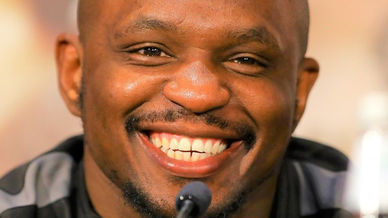 Dillian Whyte is the mandatory challenger for Tyson Fury's WBC heavyweight belt