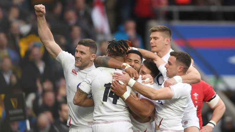 England ultimately had too much power for Wales in an entertaining clash