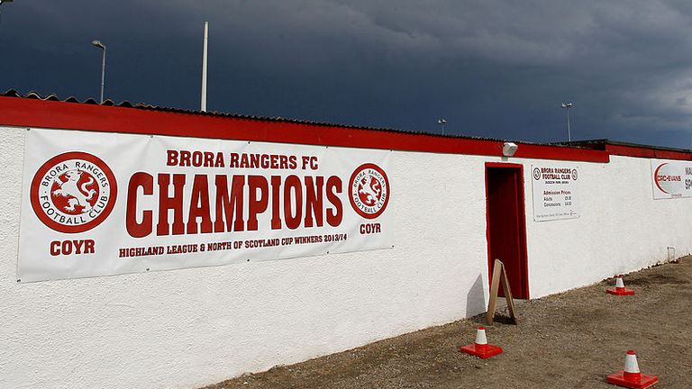 Brora Rangers have been declared Highland League Champions (archive pic)