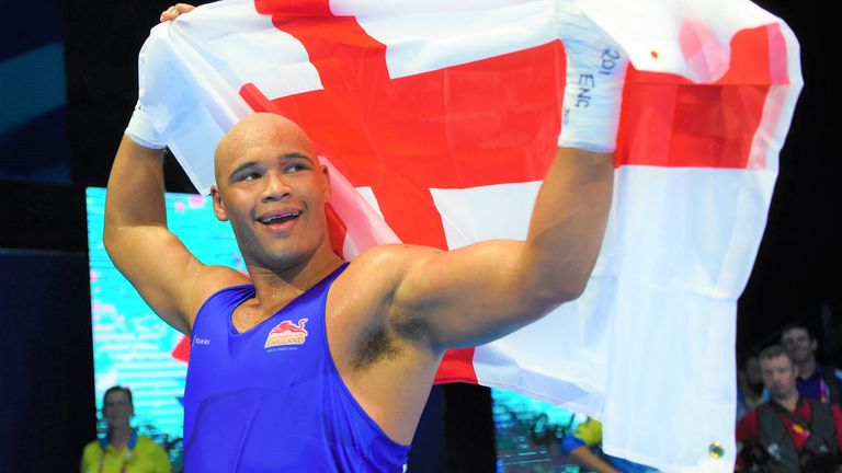 Frazer Clarke is the current Olympic medal contender at super-heavyweight