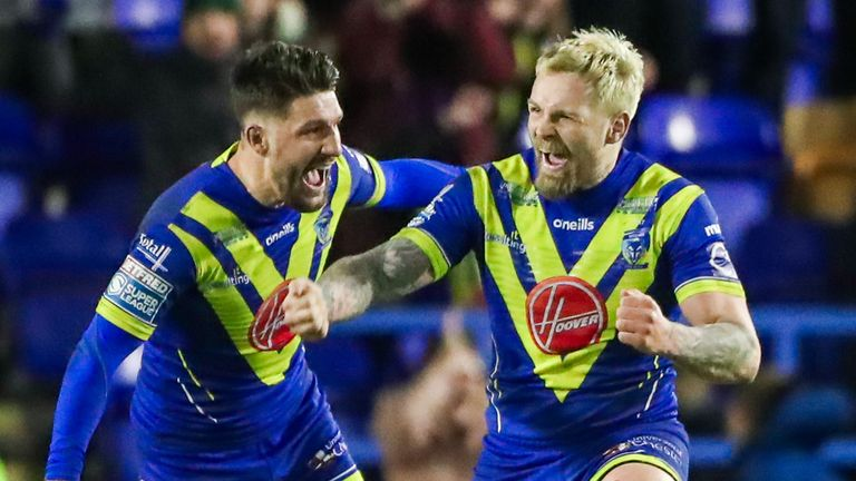 Gareth Widdop and Blake Austin are in the early stages of their half-back partnership