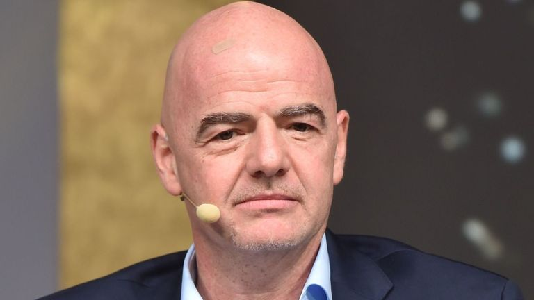 FIFA president Gianni Infantino has suggested that the Women's World Cup could take place every two years, rather than every four years.