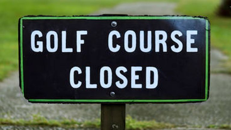 Many clubs have been thrown into financial peril by the golfing shutdown