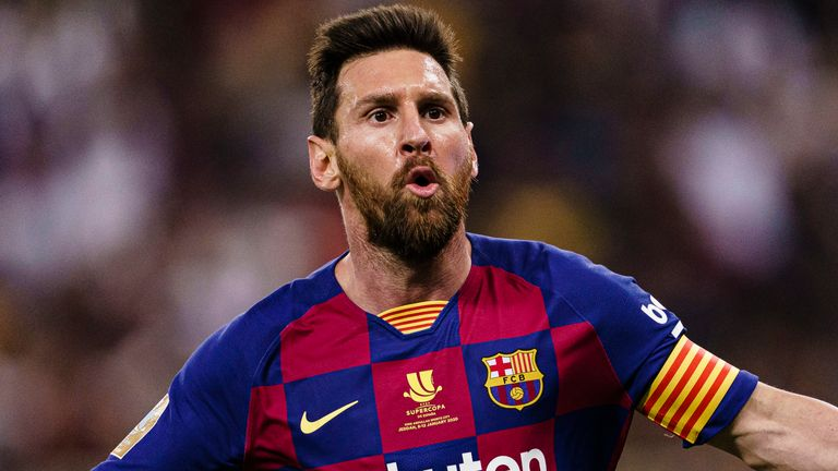 Lionel Messi has scored has 24 goals in 31 games for Barcelona this season