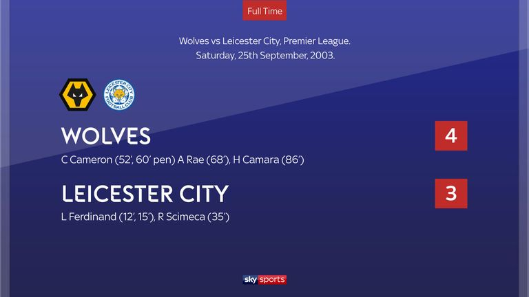 Wolves 4-3 Leicester