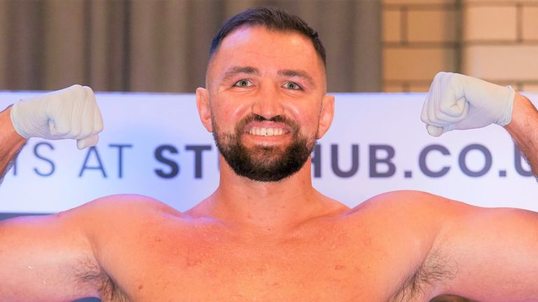 Hughie Fury has been holding talks about a fight with David Allen