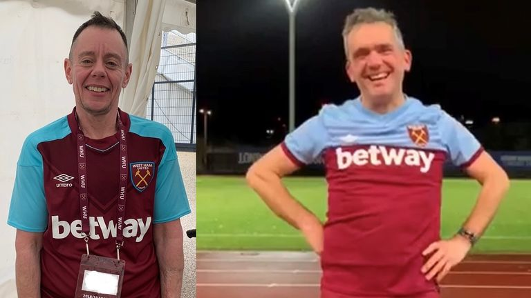 Jamie Jaxon and Mark Baldan became friends through a shared passion for West Ham