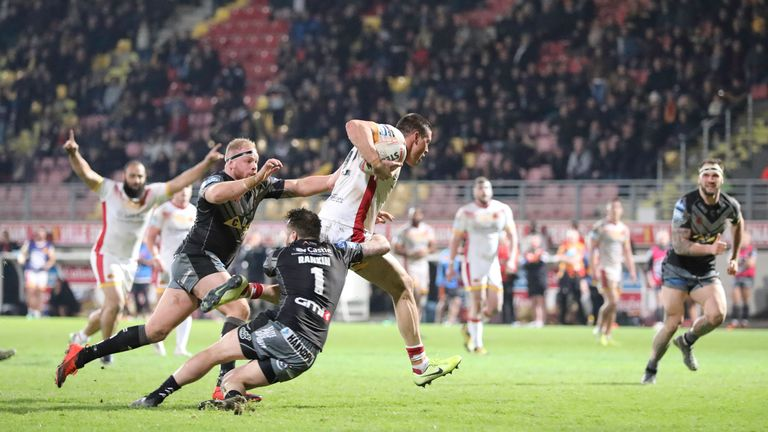 Catalans Dragons now fly the flag for France in Super League