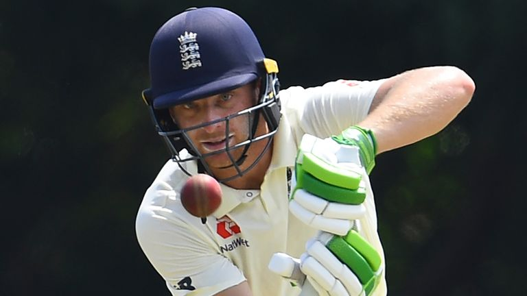 Jos Buttler batted for 157 balls and nearly three hours to save the Test match for England