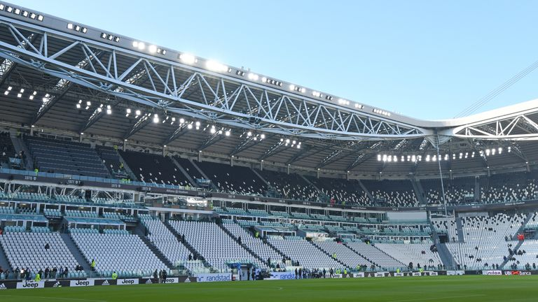 Juventus will host Inter this Sunday with spectators not permitted to attend the match