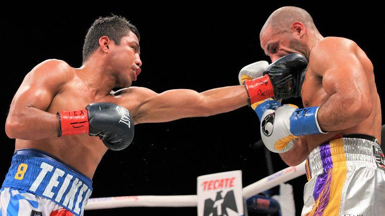 Yafai could not evade Gonzalez's classy combinations