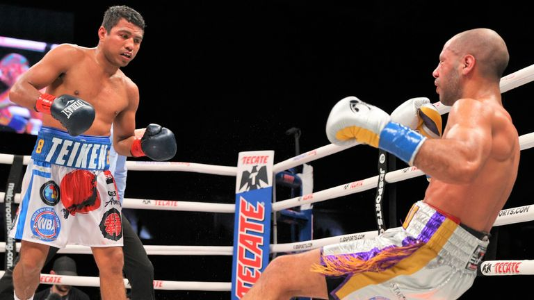 The Nicaraguan explosively ended the fight in the ninth