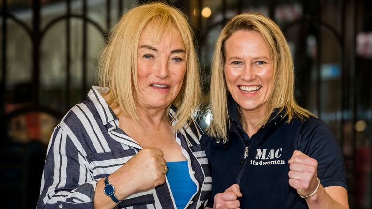 Cathy McAleer has praised Kellie's 'expertise and passion' - and hopes her promoter can guide her to a world title