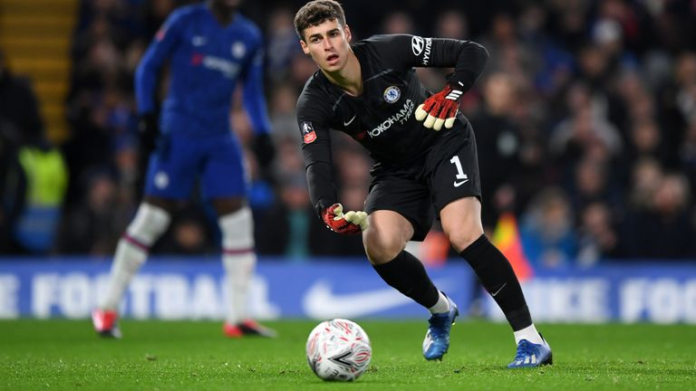 Speculation has been growing on the long-term future of Kepa Arrizabalaga at Chelsea