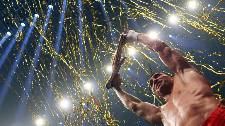 Klitschko celebrates another title defence