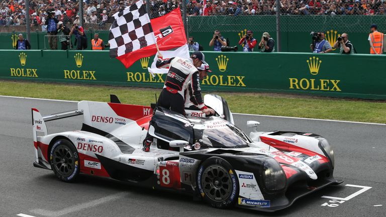 Fernando Alonso won the 2019 Le Mans 24 Hours with Toyota