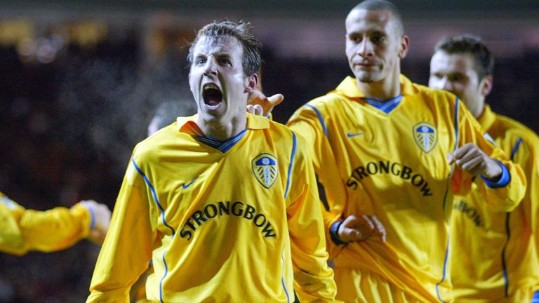 Lee Bowyer played a huge role for Leeds as they challenged on all fronts