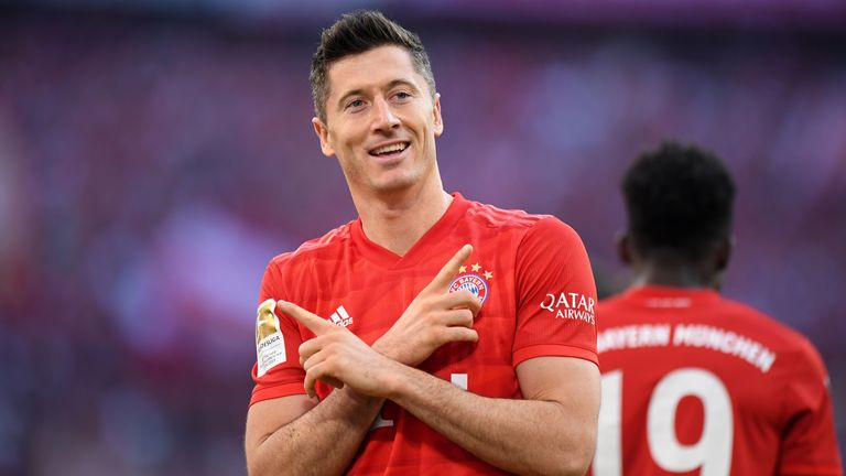 Robert Lewandowski tops the Bundesliga Power Rankings