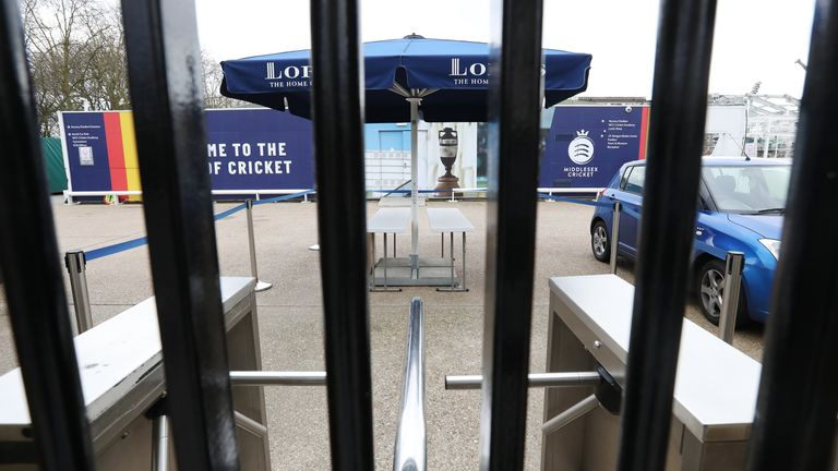 Lack of spectators at grounds has contributed to a loss of revenue for the ECB