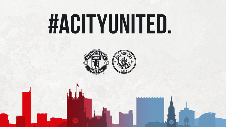 Manchester United and Manchester City have stepped in to replace support from fan-organised food bank groups