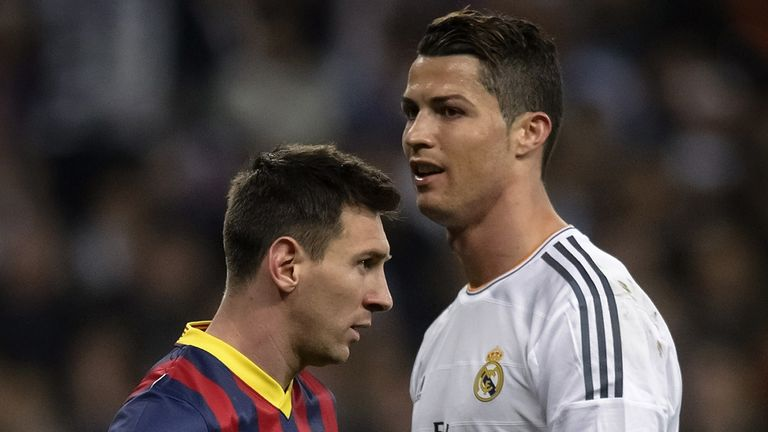 Lionel Messi and Cristiano Ronaldo have won 11 of the last 12 Ballon d'Or trophies