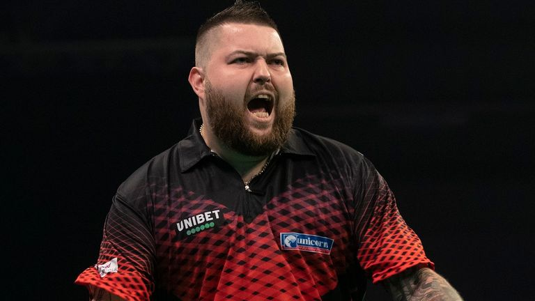 Michael Smith has lost almost three stone during the enforced break