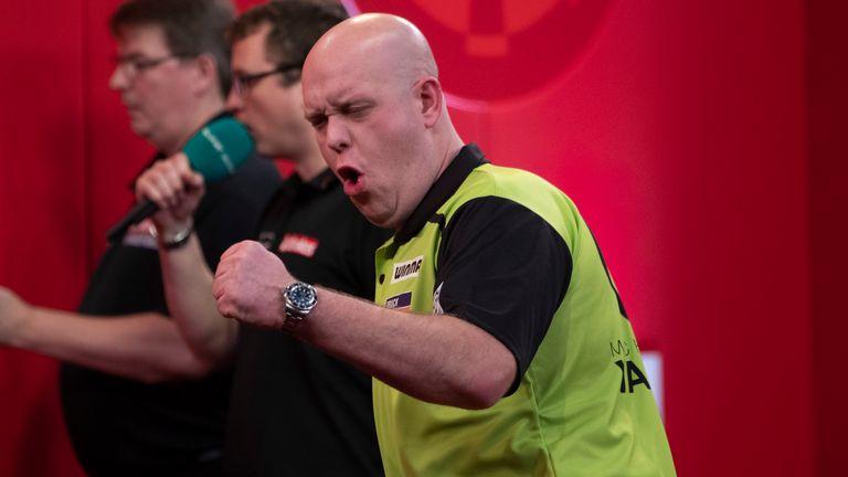 Van Gerwen sealed UK Open glory just a week before the darts calendar drew to a halt