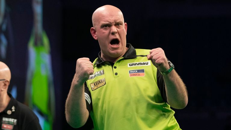 Van Gerwen did not feature in the innovative PDC Home Tour during lockdown