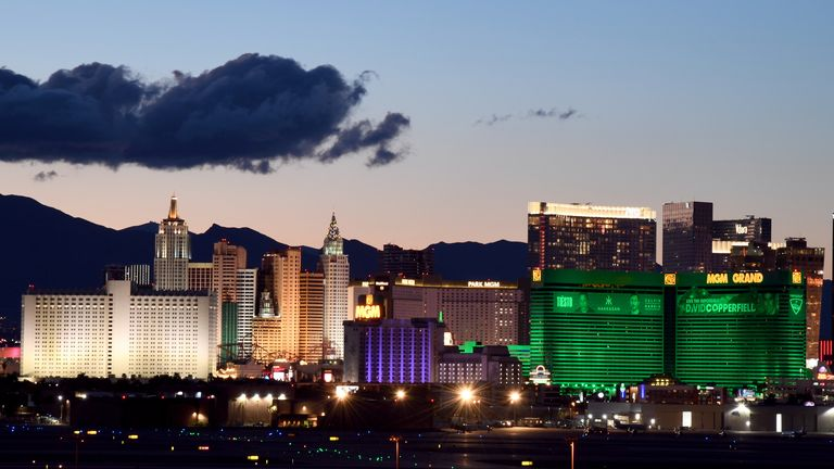 MGM properties in Las Vegas are not taking bookings