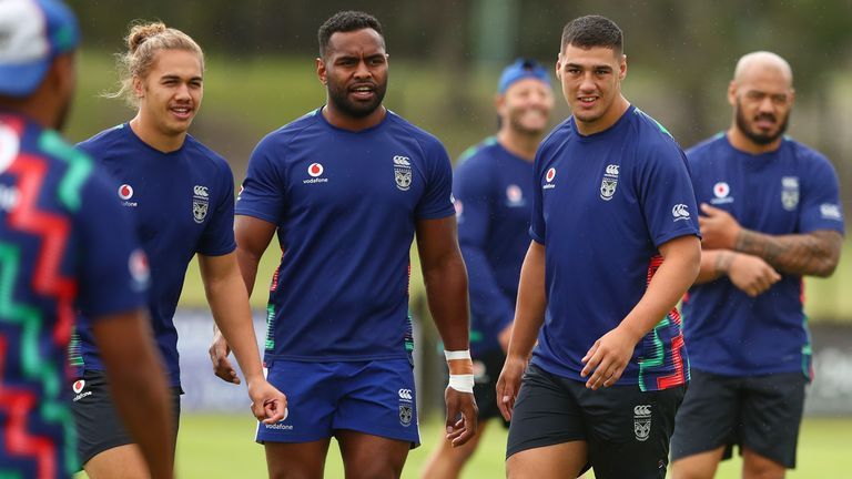 New Zealand Warriors are currently based at a Gold Coast training camp