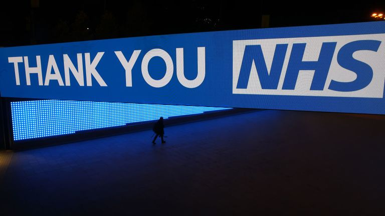 People emerge from their homes to clap, cheer and make noise for the NHS workers battling the coronavirus outbreak