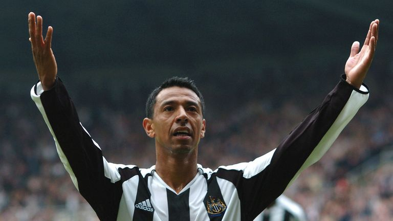Solano had two spells with Newcastle