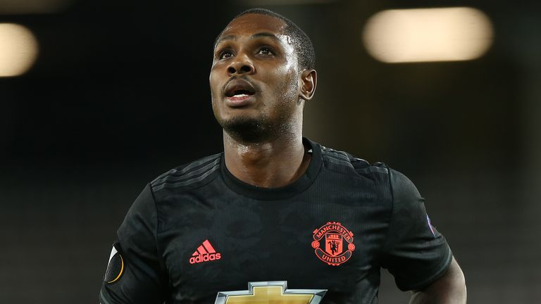 Odion Ighalo arrived at Manchester United on January transfer deadline day