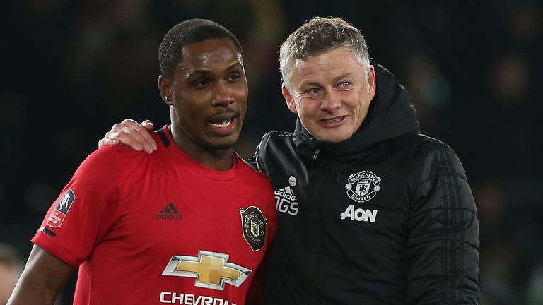 Ole Gunnar Solskjaer has hinted Ighalo could stay at United beyond his current loan spell