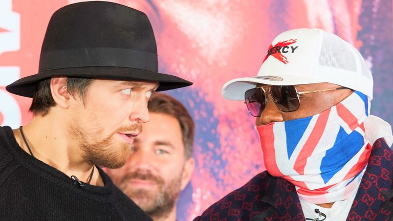 Oleksandr Usyk faces Derek Chisora on May 23, live on Sky Sports Box Office