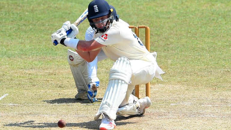 Pope scored two half-centuries across England's two warm-up games in Sri Lanka