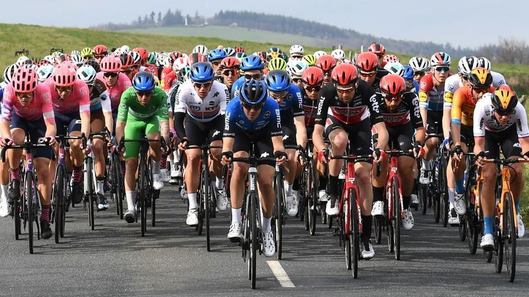 Last week's Paris-Nice looks like being the last UCI event until the end of May at the earliest