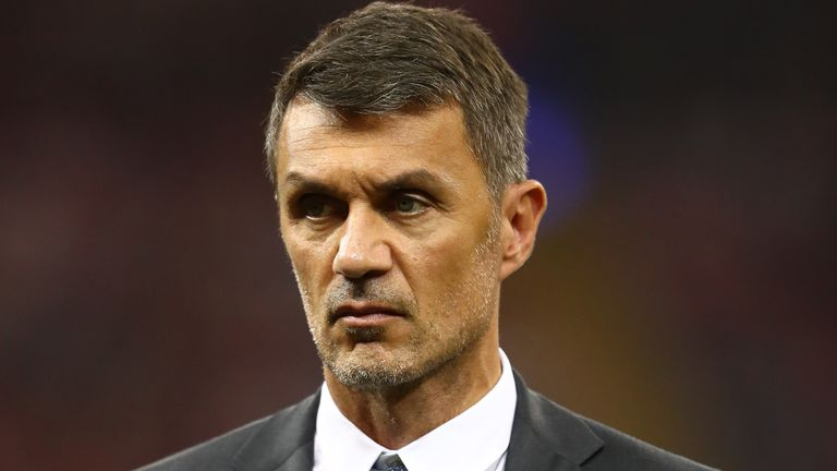 Paulo Maldini spent his entire playing career with Milan