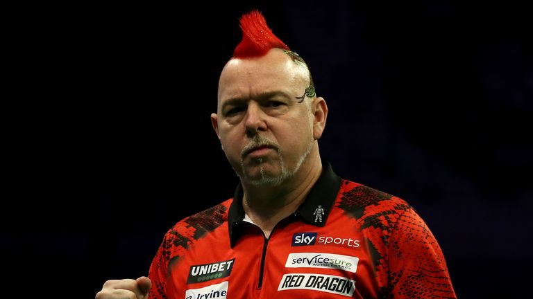 Peter Wright currently sits fifth in the Premier League table